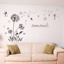 Vinyl Wall Stickers Flowers for Bedroom