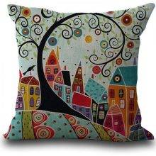 Abstract Patterned Bedroom Pillow